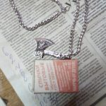 awesome axe pendant necklace
