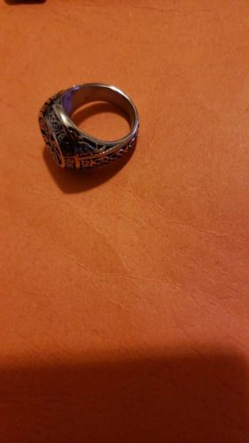 norse ring with runes