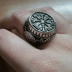 quality viking rune ring