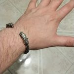 viking antique bracelet