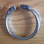 viking bangle dragon bracelet