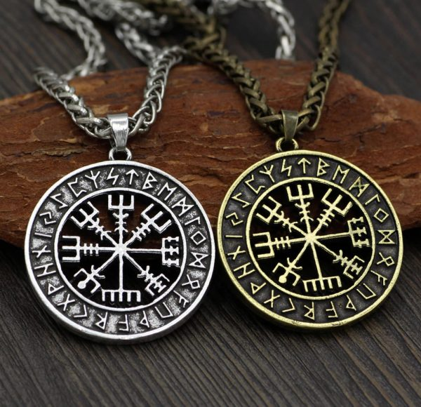 vegvisir rune necklace