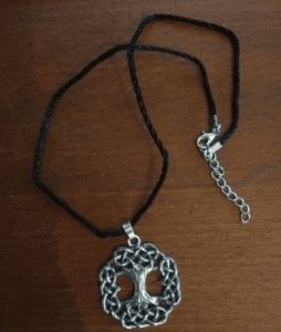yggdrasil pendant for men