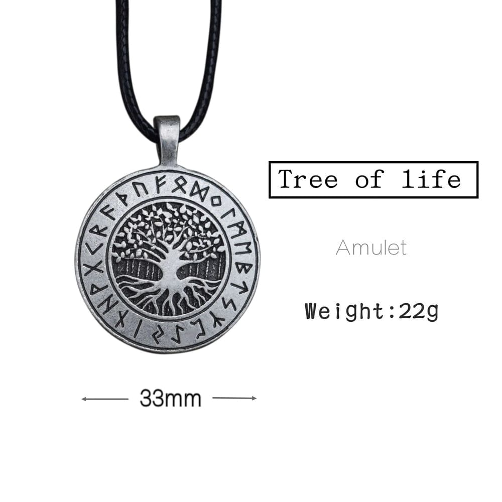 yggdrasil pendant necklace