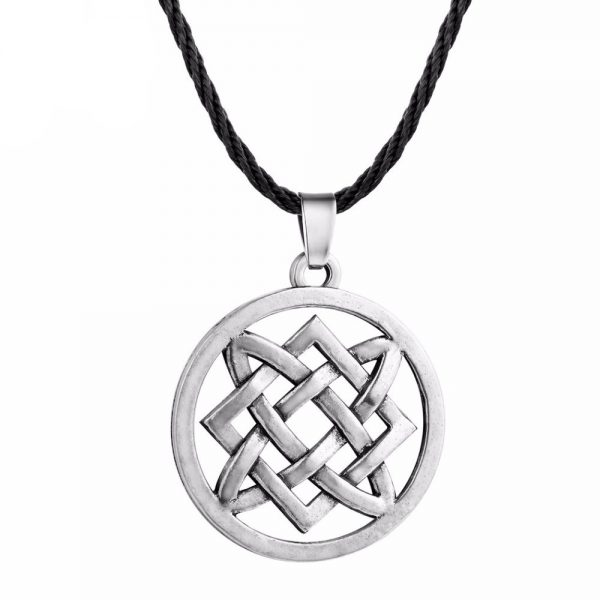 viking knot necklace