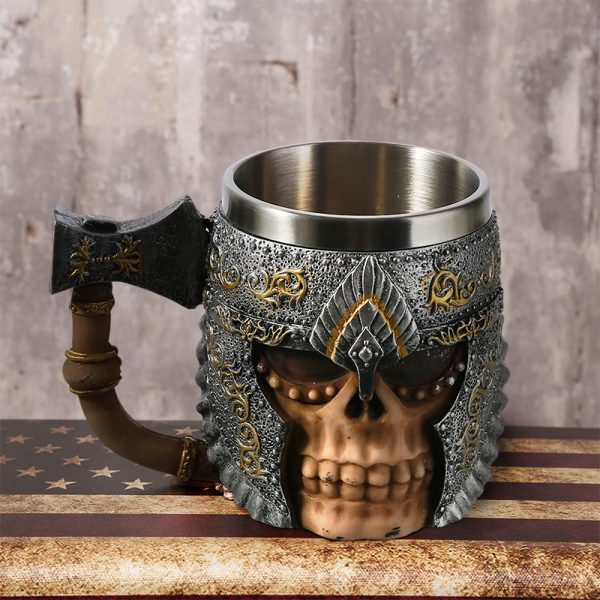 viking warrior mug