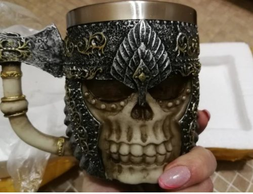 warrior axe mug