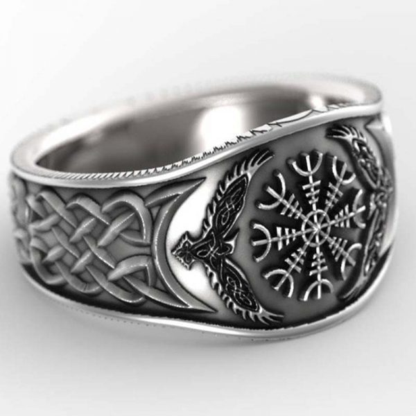 celtic compass ring