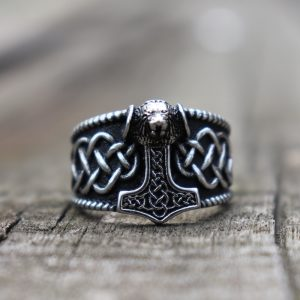 viking hammer ring